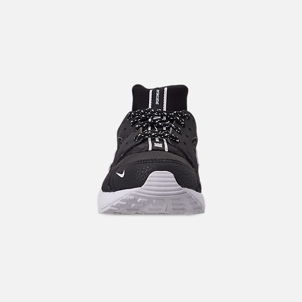 new styles 4816e 7be6c Front view of Boys  Little Kids  Nike Huarache Run SE Casual Shoes in Black