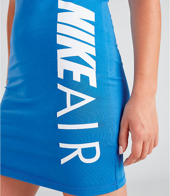 Detail 2 view of Women's Nike Air Dress in Photo Blue/White