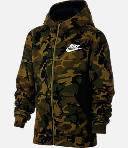 Boys' Nike Club Fleece Full-Zip Hoodie