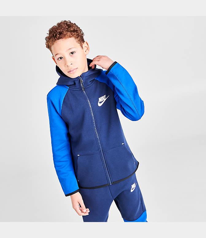 Nike Sportswear Full Zip Hoodie for Women game royal