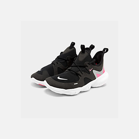 e7b69abf7781e Three Quarter view of Girls  Big Kids  Nike Free RN 5.0 Running Shoes in