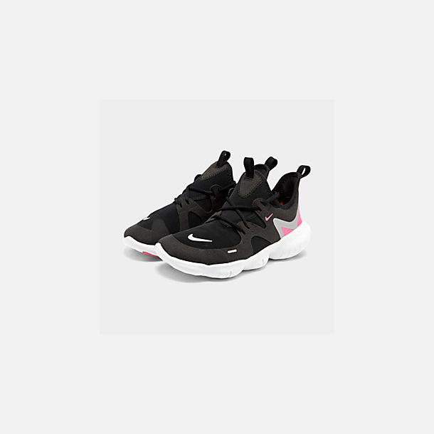 ba7019b75a0e Three Quarter view of Girls  Big Kids  Nike Free RN 5.0 Running Shoes in
