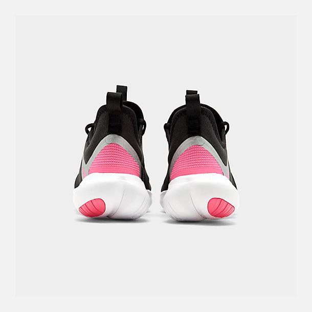 49c6f20ee47b1 Left view of Girls  Big Kids  Nike Free RN 5.0 Running Shoes in Black