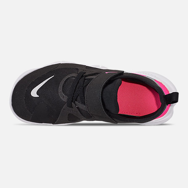 official photos b7fe3 0e8e3 Top view of Girls  Little Kids  Nike Free RN 5.0 Running Shoes in Black