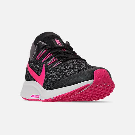 9d201563e Three Quarter view of Girls' Big Kids' Nike Air Zoom Pegasus 36 Running  Shoes