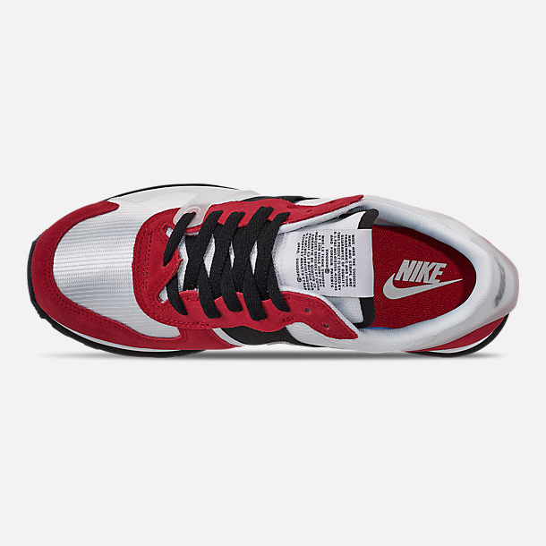 Top view of Women's Nike V-Love O.X. Casual Shoes in White/White/Gym Red/Black