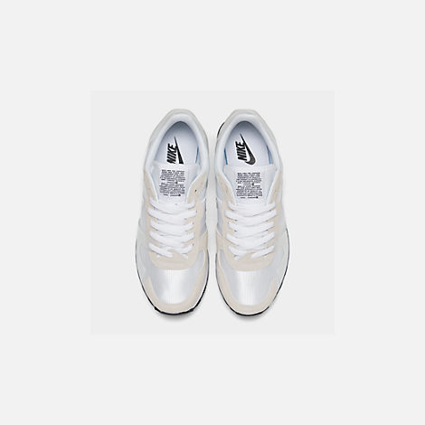 659980c0bb858f Back view of Women s Nike V-Love O.X. Casual Shoes in White White