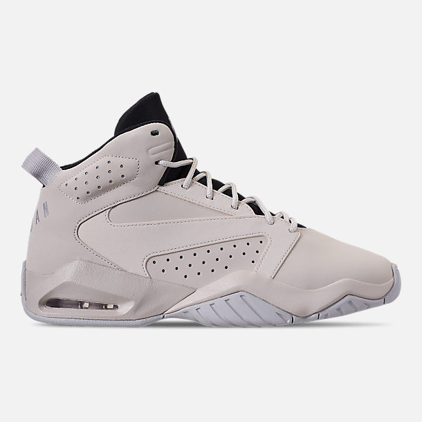 Right view of Men's Air Jordan Lift Off Basketball Shoes in Light Bone/Reflect Silver/Grey Fog/Black
