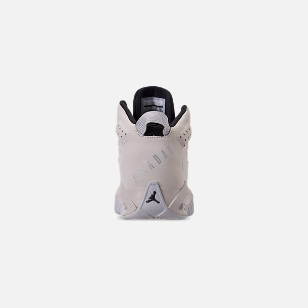 Back view of Men's Air Jordan Lift Off Basketball Shoes in Light Bone/Reflect Silver/Grey Fog/Black