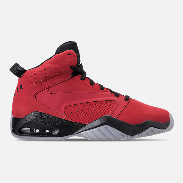 los angeles f823e e136b Right view of Men s Air Jordan Lift Off Basketball Shoes in Gym Red White