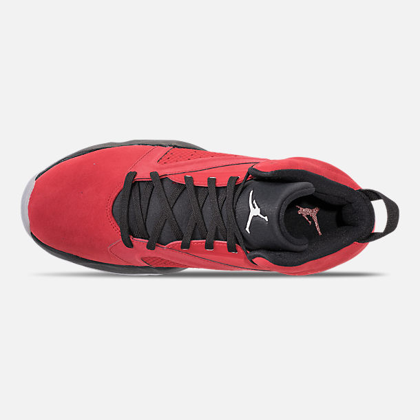 b56a0f65c3e Top view of Men s Air Jordan Lift Off Basketball Shoes in Gym Red White