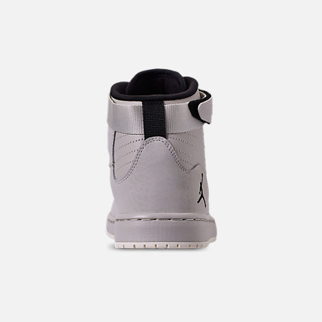 Back view of Men's Air Jordan SOG Off-Court Shoes in Light Bone/Black/Sail/Reflect Silver