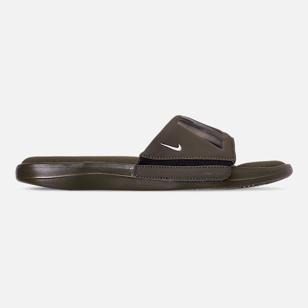 5016c95b091c Right view of Men s Nike Ultra Comfort 3 Slide Sandals in Cargo Khaki Black