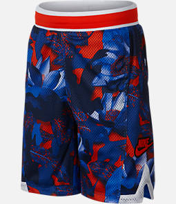Boys' Nike Hoopfly Allover Print Basketball Shorts