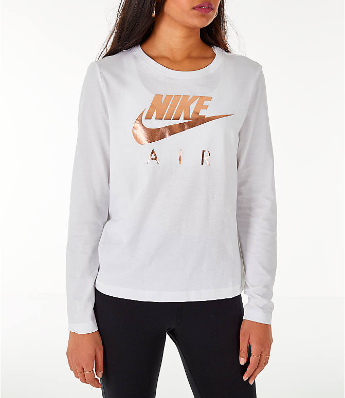 39874d77 Front view of Women's Nike Sportswear Air Long-Sleeve T-Shirt