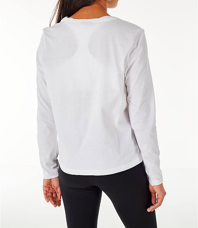 Back Right view of Women's Nike Sportswear Air Long-Sleeve T-Shirt