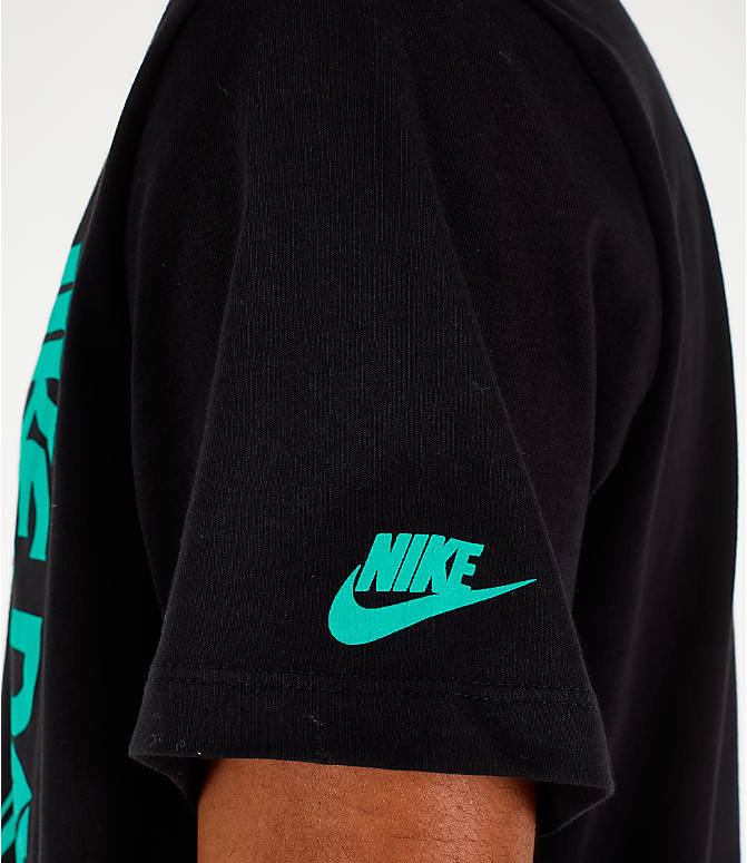 Detail 2 view of Men's Nike Sportswear Have a Nike Day T-Shirt in Black/Jade