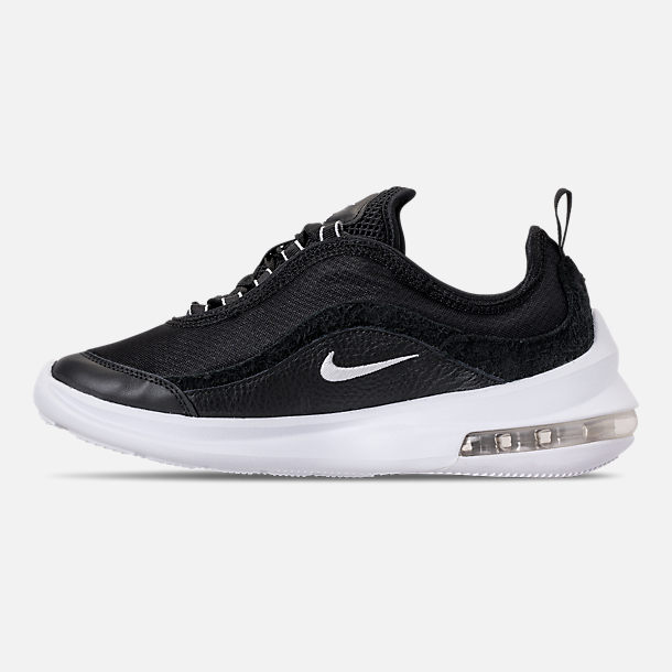 Left view of Women's Nike Air Max Estrea Casual Shoes in Black/White/Anthracite