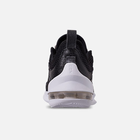 Back view of Women's Nike Air Max Estrea Casual Shoes in Black/White/Anthracite