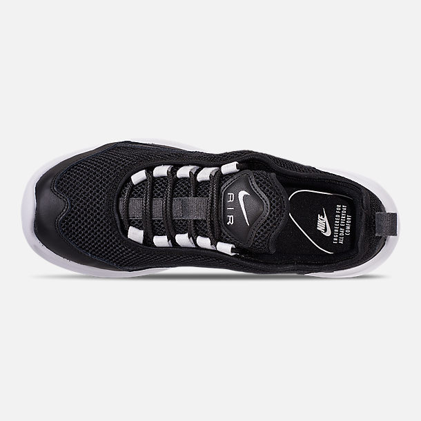 Top view of Women's Nike Air Max Estrea Casual Shoes in Black/White/Anthracite