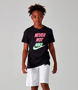 Boys' Nike Sportswear Never Not Nike T-Shirt