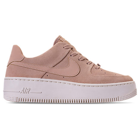 Women'S Af1 Sage Xx Low Casual Shoes, Pink/Brown