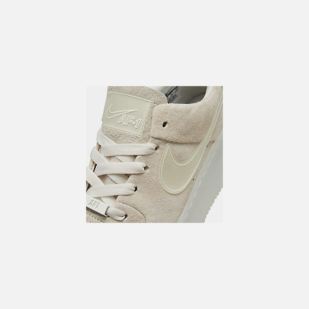 Front view of Women's Nike Air Force 1 Sage Low LX Casual Shoes in Phantom/White