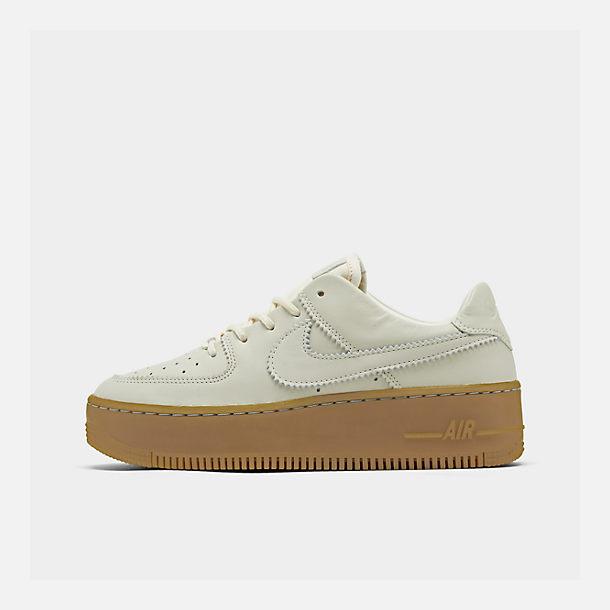 wholesale dealer e2654 f0fb2 Women's Nike Air Force 1 Sage Low LX Casual Shoes