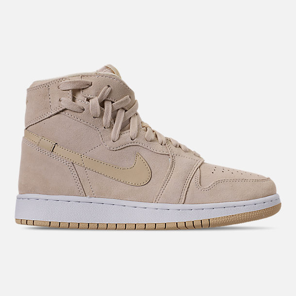 Right view of Women's Air Jordan 1 Rebel XX Casual Shoes in Light Cream/Desert/White