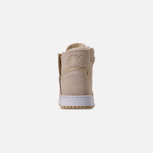 b8b3df19aed Back view of Women's Air Jordan 1 Rebel XX Casual Shoes in Light  Cream/Desert