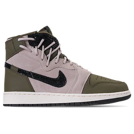WOMEN'S AIR JORDAN 1 REBEL XX CASUAL SHOES, GREEN