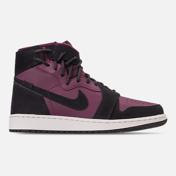 3869746b08c6 Right view of Women s Air Jordan 1 Rebel XX Casual Shoes in Bordeaux Black