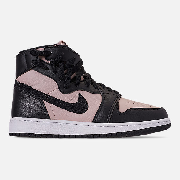 2fc9bc7df95b Right view of Women s Air Jordan 1 Rebel XX Casual Shoes in Split Red Black