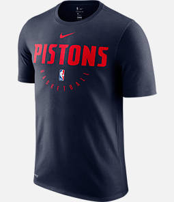 Men's Nike Detroit Pistons NBA Dri-FIT Practice T-Shirt