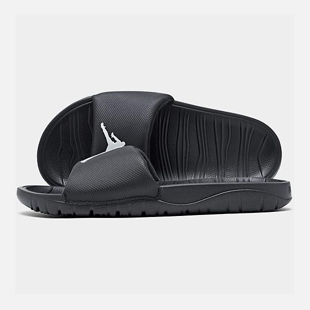 best website ccf4f e7912 Right view of Men s Jordan Break Slide Sandals in Black White