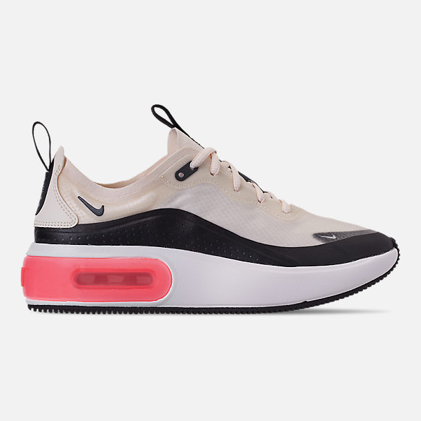 Right view of Women's Nike Air Max DIA Special Edition Casual Shoes in Pale Ivory/Black/Summit White