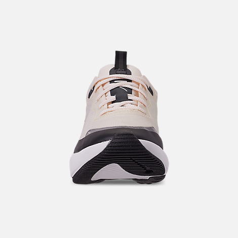 Front view of Women's Nike Air Max DIA Special Edition Casual Shoes in Pale Ivory/Black/Summit White