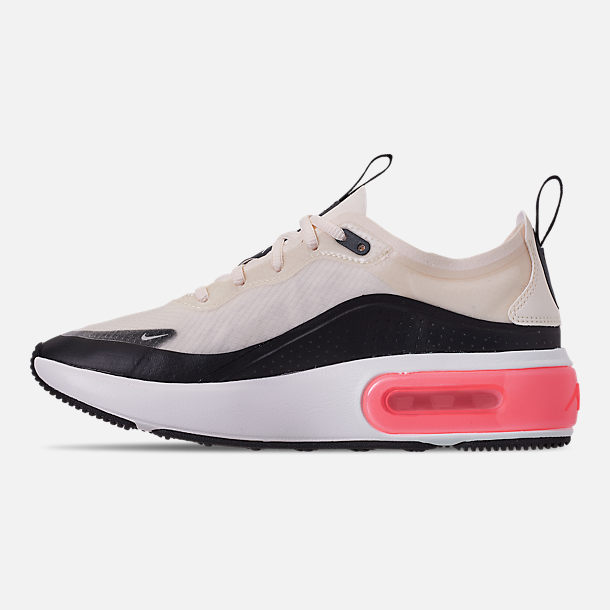 Left view of Women's Nike Air Max DIA Special Edition Casual Shoes in Pale Ivory/Black/Summit White