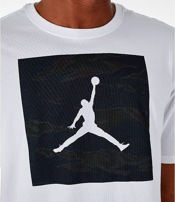 Detail 1 view of Men's Air Jordan 23/7 Training T-Shirt in White