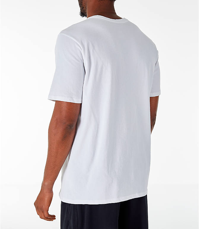 Back Left view of Men's Air Jordan 23/7 Training T-Shirt in White