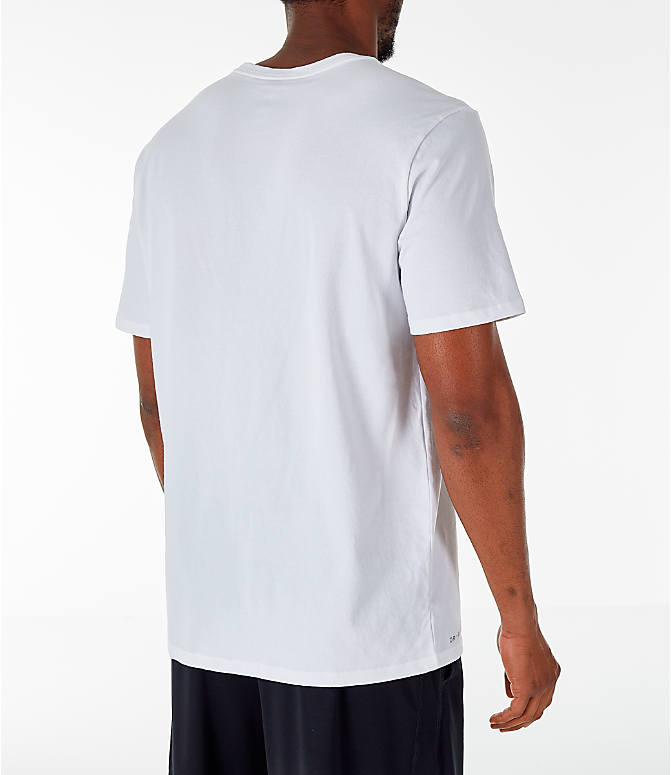Back Right view of Men's Air Jordan 23/7 Training T-Shirt in White