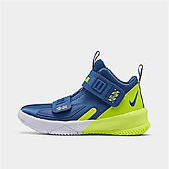 Boys' Little Kids' Nike LeBron Soldier 13 Basketball Shoes