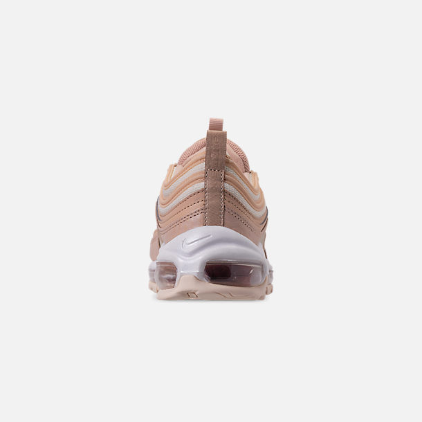 Back view of Women's Nike Air Max 97 Lux Casual Shoes in Bio Beige/Light Carbon