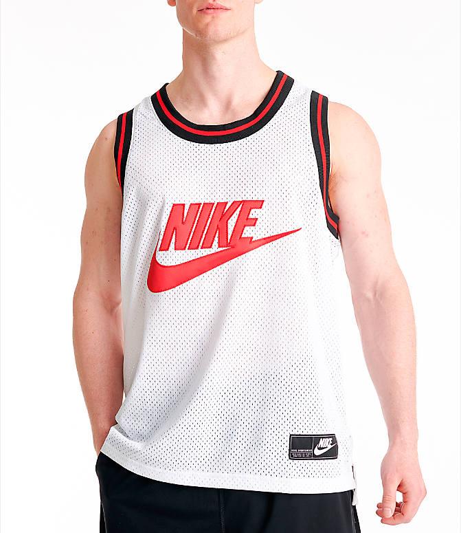 Nike Mesh Tank Top | White | Tank tops | 726108 100 | Caliroots