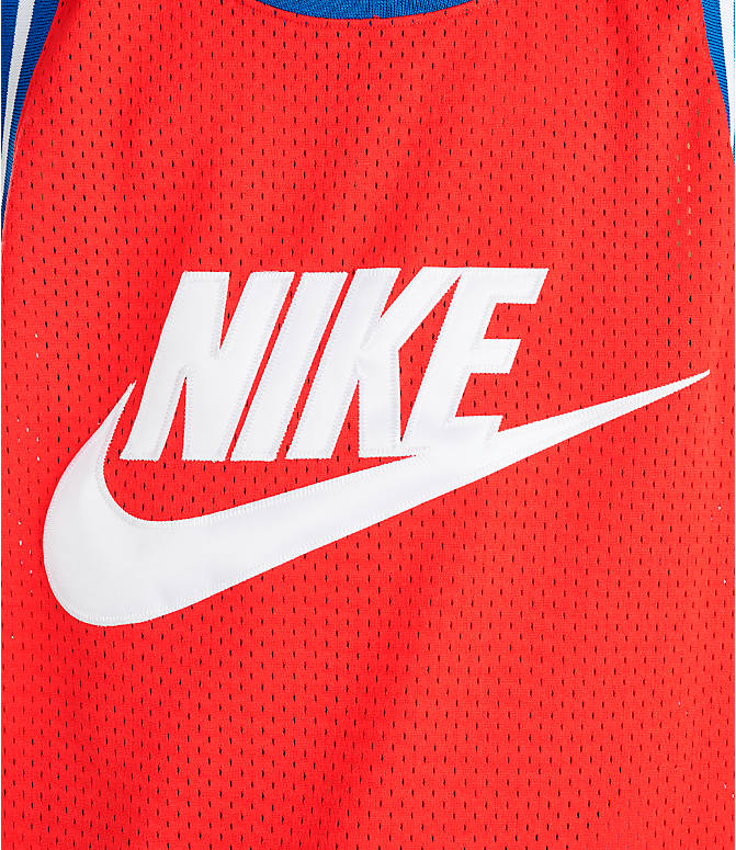 2b23faa2 Detail 1 view of Men's Nike Sportswear Statement Mesh Jersey Tank in  University Red