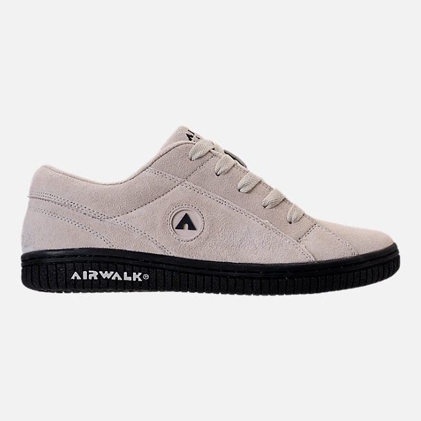 Right view of Men's Airwalk Stark Casual Shoes in White/Black