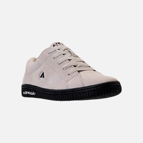 Three Quarter view of Men's Airwalk Stark Casual Shoes in White/Black