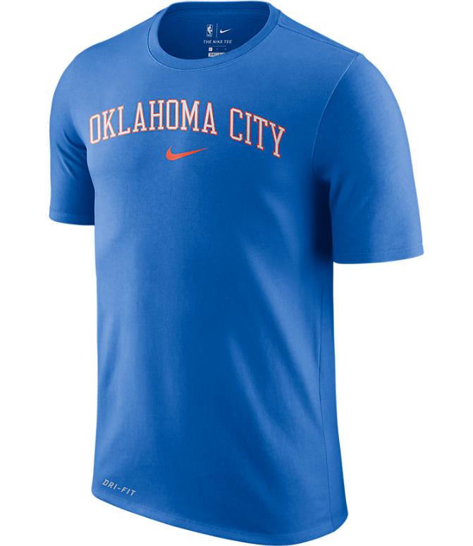 low priced 67c6d a7a32 Men's Nike Dri-FIT Oklahoma City Thunder NBA City T-Shirt