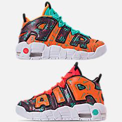 Boys' Big Kids' Nike Air More Uptempo Premium Basketball Shoes