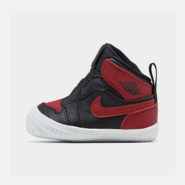 hot sale online b3bd5 8c02b Infant Air Jordan Retro 1 Crib Booties